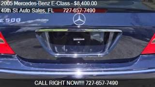2005 Mercedes-Benz E-Class  - for sale in Clearwater, FL 337