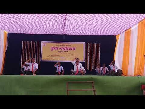 Standing Dance Shivaji Mahavidyalaya Gadchiroli