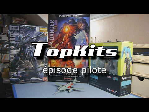 Top Kits #1 - Plamax Gipsy Danger, MG GM Sniper II, Figma Racing Miku Team Ukyo