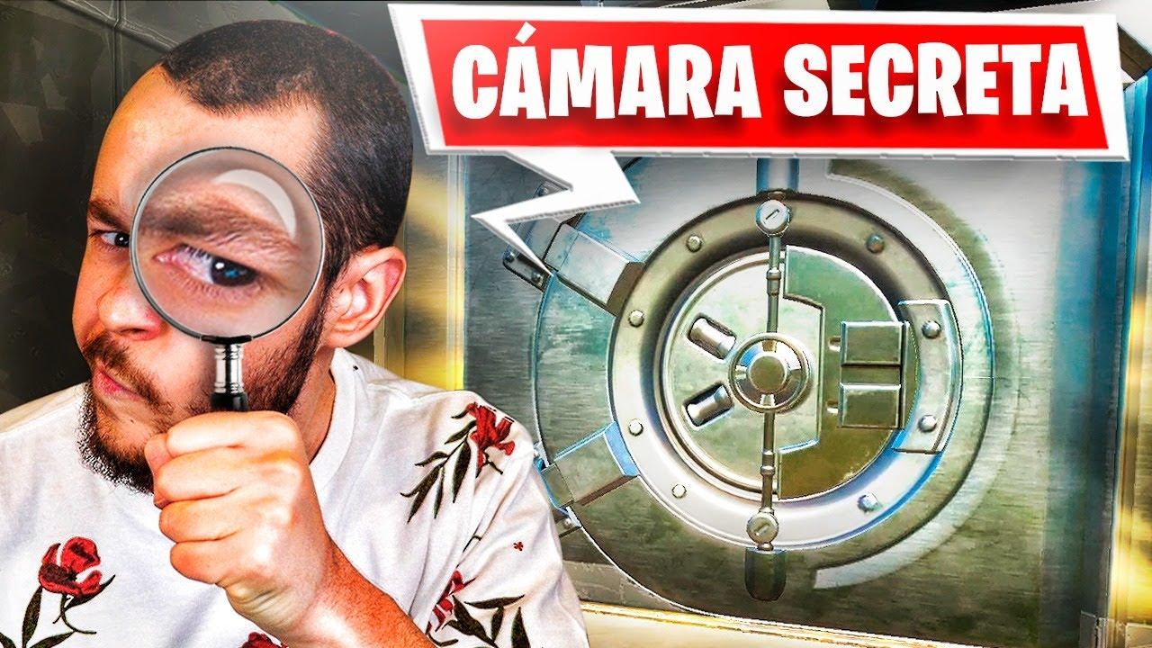 Donde Hay Camaras En Fortnite Abro La Camara Secreta De Fortnite Y Esta Es Mi Reaccion Thegrefg Youtube