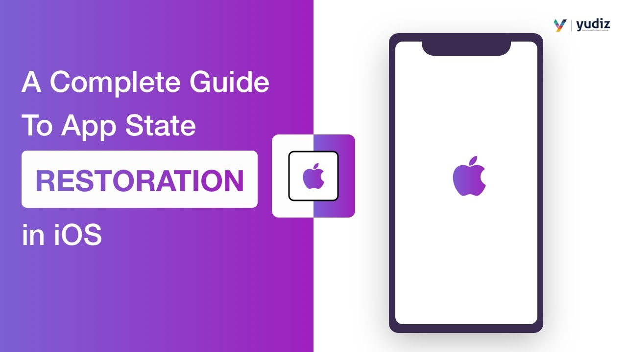 A complete guide to App State Restoration in iOS