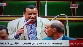 بالفيديو.. محمود الضبع يفتح ملف أزمة الصرف الصحى ومياه الشرب فى قنا بالبرلمان