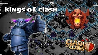 Clash of clans - Kings of clash! w/ kings rock (update review)