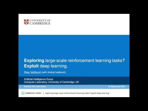 Deep Reinforcement Learning Tech Talk