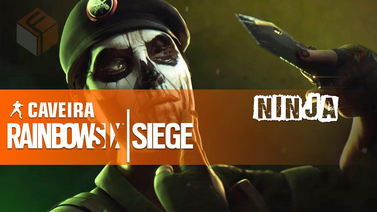 rainbow six siege how to ninja interrogate with caveira youtube