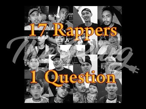 The Plug Ph Presents 17 Rappers, 1 Question