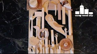 Scrap Bin Challenge Wooden Art Piece