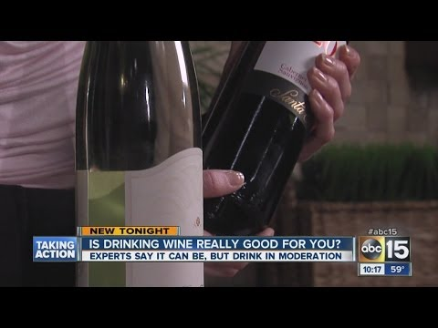 Which is healthier: red or white wine?