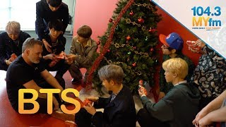 BTS Open Christmas Gifts From Valentine In The Morning