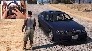 2006 BMW Alpina B7L - GTA V | Logitech G29 🔥 When GTA VI ? Who waiting?