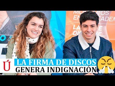 Indignación en la firma de discos de Amaia y Alfred en ECI Madrid Operación Triunfo 2017