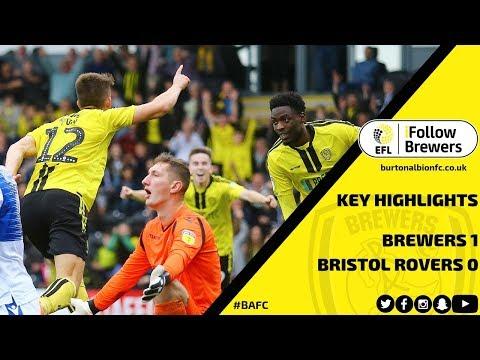 MATCH HIGHLIGHTS   Burton Albion 1-0 Bristol Rovers