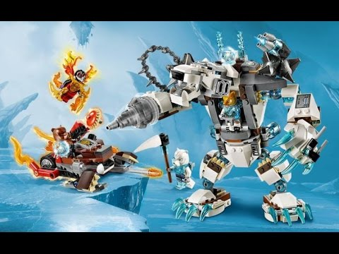 Construction lego legends of chima icebite 39 s claw driller 70223 1 2 fr youtube - Image de lego chima ...