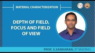 Materials Characterization by Dr. S. Sankaran Department of Metallu...