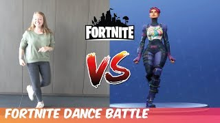 FORTNITE DANCE CHALLENGE #2 (in real life) WITH NEW DANCES-Challenge