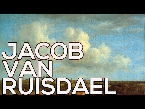 Jacob van Ruisdael: A collection of 185 paintings (HD)