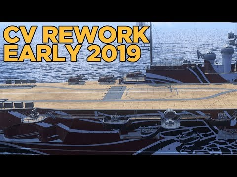CV Rework Headed to Live - World of Warships