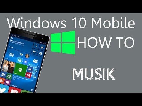 Windows 10 Mobile - Eigene Musik auf das Smartphone kopieren
