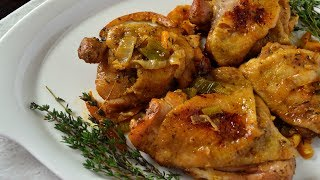 Simple & Juicy Baĸed Chicken