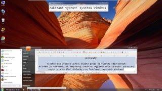 Zakázání možnosti Vypnutí a Restartování počítače (úprava registru)
