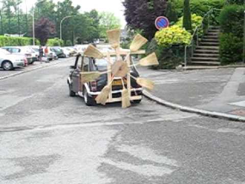 voiture balai 2 - Voiture Balai Mariage