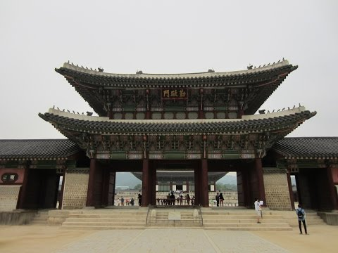 Gyeongbokgung, the Main Palace of the Joseon Dynasty - Seoul/서울시