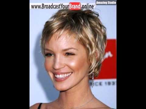 Kurzhaarschnitte Für Feines Haar Eckigen Gesicht Bild Youtube
