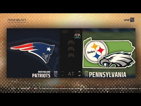 What If Every NFL Team From PENNSYLVANIA Combined Into One SUPER Team? Madden NFL