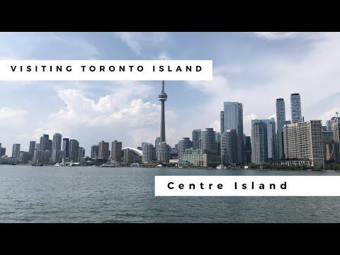 Visiting Toronto Island (Centre Island)