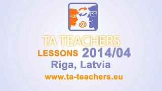 TA Lesson I English I 5 - 6 I Describing Objects