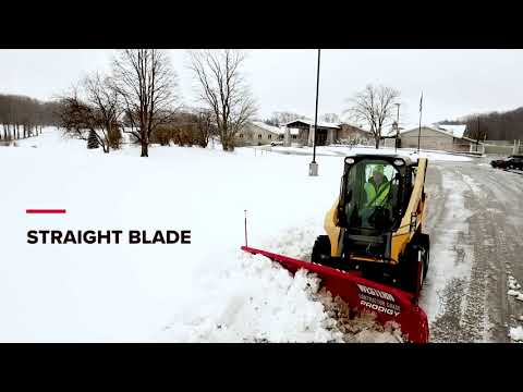WESTERN® PRODIGY™ And PRO PLUS® Skid-steer Snow Plows