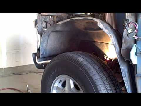 Chevy Driver Fender Removal - YouTube