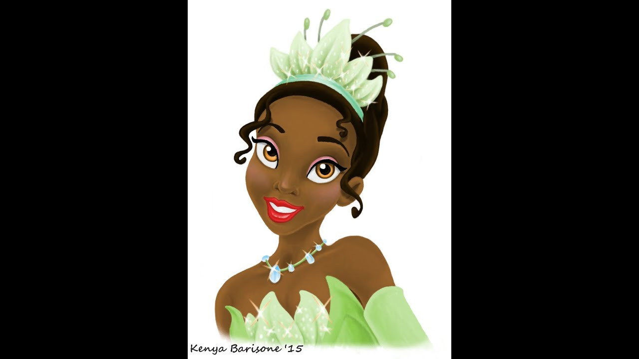 Disneys Princess and the Frog Drawing Princess Tiana  YouTube
