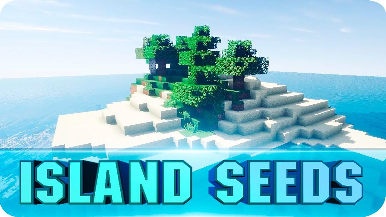 Minecraft Seeds - TOP 10 Survival Island Seeds! The Best ...