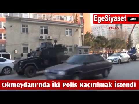 Okmeydanı'nda İki Polis Kaçırılmak İstendi