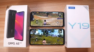 OPPO A5 2020 Vs VIVO Y19 - COMPARISON (BATTERY, SPEED, CAMERA & GAMING)