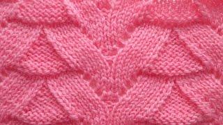 Узор спицами для свитера, кардигана