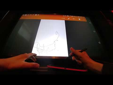 Boogie Board Sync indirectly turning a TV into a digital white board