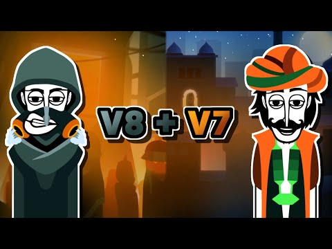 Incredibox V8 + V7 - Dystopia + Jeevan Comparison - Ruslar.Biz
