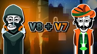 Incredibox V8 + V7 - Dystopia + Jeevan Comparison