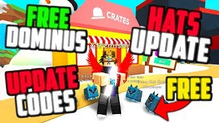 How to get dominus hats in roblox magnet simulator videos / InfiniTube