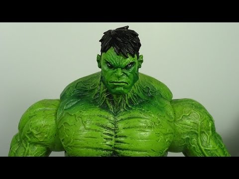 Marvel Select Unleashed Hulk (Disney Store Exclusive) Figure Review