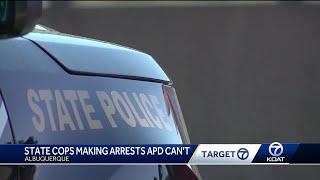 Zapętlaj State police make arrests in city that APD can't   KOAT