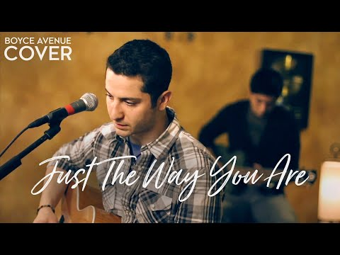 Bruno Mars  Just The Way You Are Boyce Avenue acousticpiano  on  & Apple