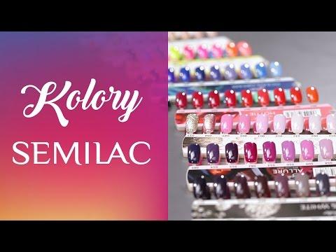 Swatche Kolorów Semilac: Pastele, Neony, Nude || Q&A #4 || Semilac TV