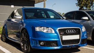 Ultimate Audi RS4 exhaust sounds