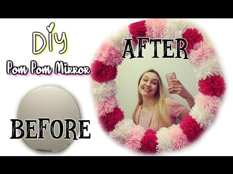 Видео Рама для зеркала своими руками ️  Декор ванной комнаты | Легкий и быстрый Ди Ай Вай