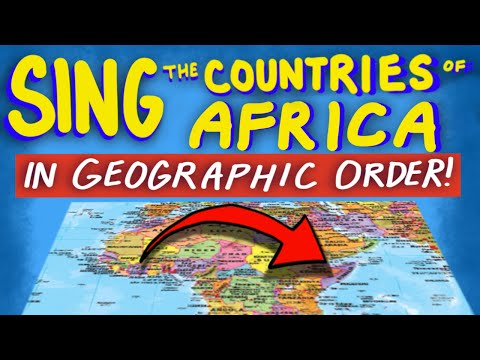 "Countries of Africa Song - From ""Tap the World!"""