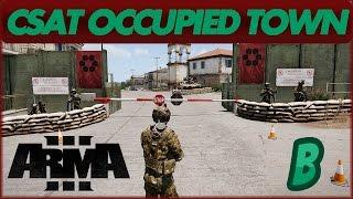 Скачать ARMA 3 EDEN EDITOR CSAT Occupied Town Timelapse