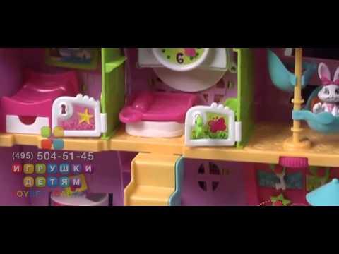 Игровой набор с игрушками Пинипон Отель (Hotel PinyPon)